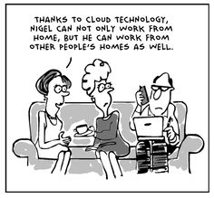 work from home cartoon2