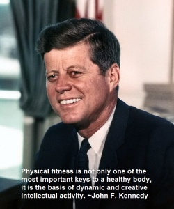 John_F._Kennedy,physical fitness