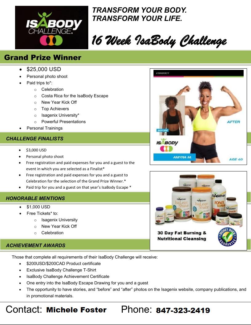 16 week isabody challenge mf